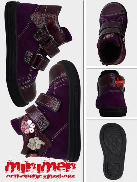Черевики Minimen 67FIOLET Фіолетовий