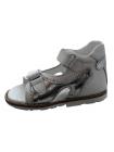 Босоніжки Perlina 60TOMSEREBRO Білий з сріблом