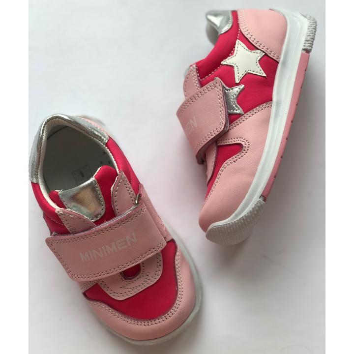 Minimen Кросівки 86STAR р. 21 Рожевий з малиновим