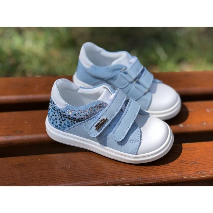 Кросівки Perlina 4BLUE Білий з блакитним