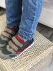 Кросівки Perlina 4SERIY Сірий нубук