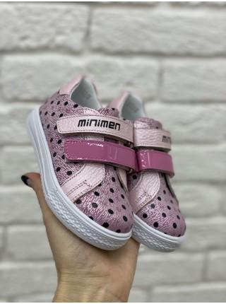 Кросівки Minimen 86KRAPKA Рожевий