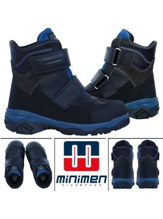 Черевики Minimen 3GOLYAZ20 Темно-синій
