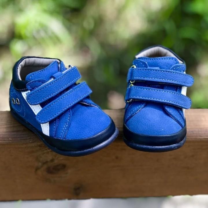 Черевики Perlina 95BLUE2L Блакитні