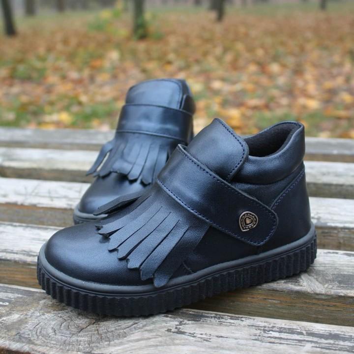 Ботинки Perlina 32SINIY Синій