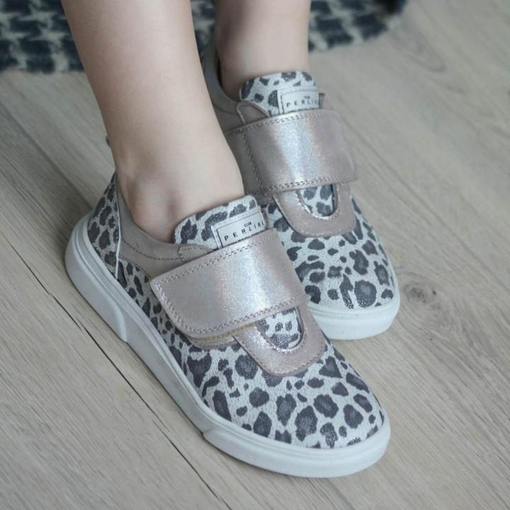 Кросівки дитячі Perlina  105PYATNO  срібло