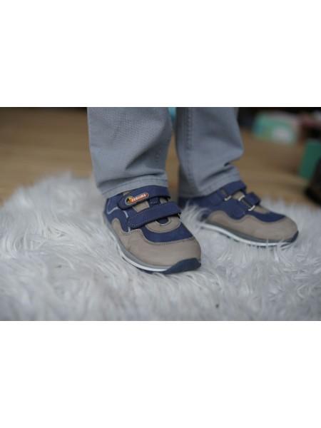 Кросівки Perlina 4SERIY20 Блакитний з сірим