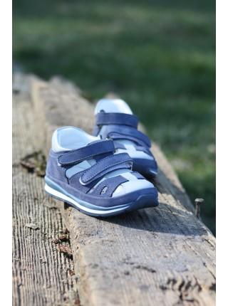 Босоніжки Perlina 23GOL Блакитний