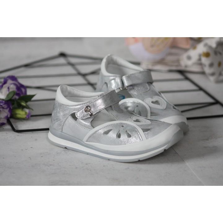 Туфлі Perlina 101.004 Срібло