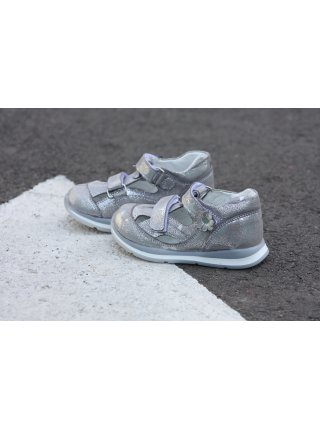 Туфлі Perlina 23.003 Сріблястий