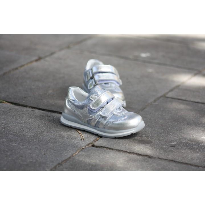 Кросівки Perlina 4.002  срібло