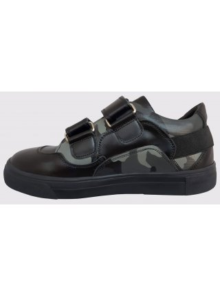 Туфлі Perlina 38MILITARY Чорний