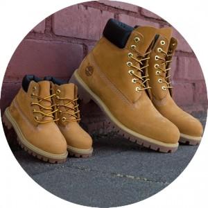 <Timberland: дитяче взуття з США