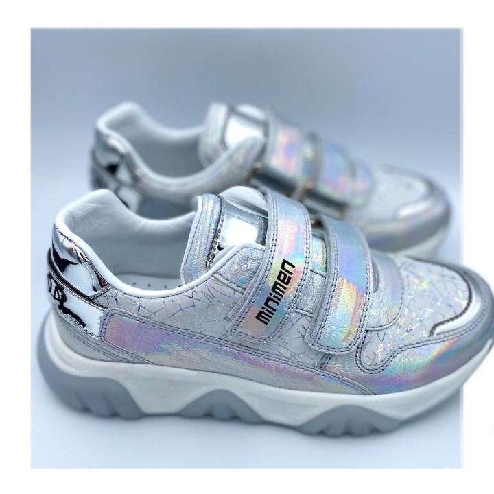 Кросівки Minimen 96gologram срібло
