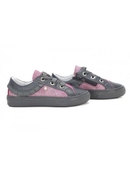 Кросівки Bartek 21rosegray сірий c рожевим