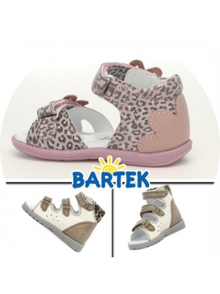 Босоніжки Bartek 21rose рожевий
