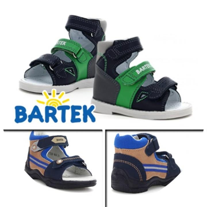 Босоніжки Bartek 21green зелений