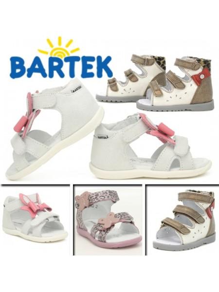 Босоніжки Bartek  21bantik срібло