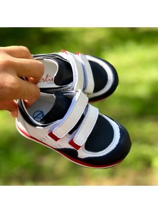 Кросівки Perlina 4sbk синій з білим