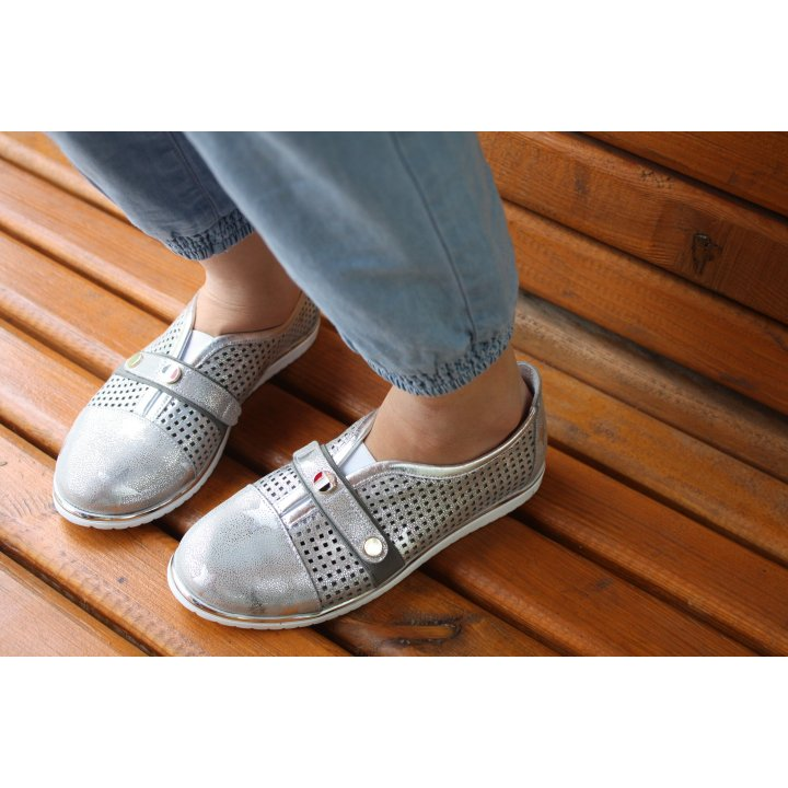 Туфлі Perlina 104dirstаr срібло