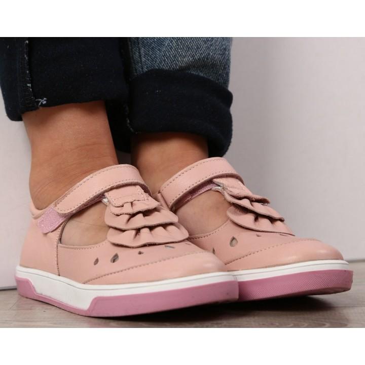 Туфлі Perlina 101rush пудра
