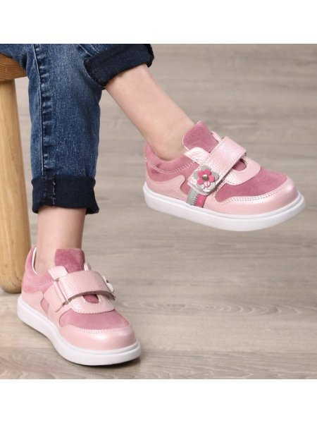 Кросівки Minimen 86ROSENUBUK Рожевий