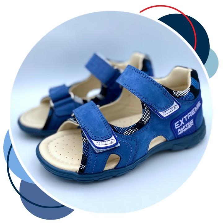 Босоніжки Minimen 39xl21 синій