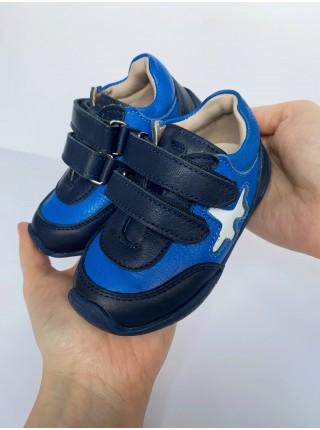 Кросiвки Perlina 2gol синій