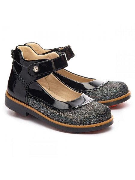 Туфлі Theo Leo 22serebro чорний