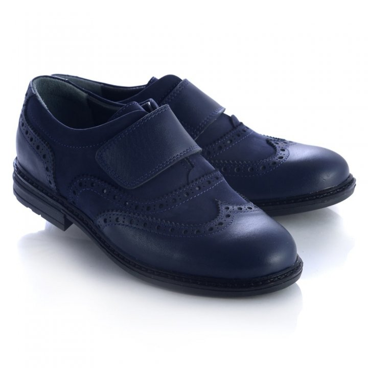 Туфлі Theo Leo 22siniy  синій